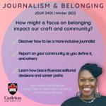 JOUR 3401: Journalism & Belonging thumbnail