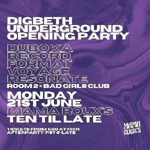 Digbeth Underground Opening âš¡ thumbnail