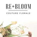 Re+Bloom Couture Florals Website thumbnail