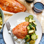 Soy Ginger Barbecued Salmon thumbnail