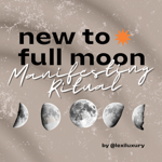 NEWEST BLOG POST: My New to Full Moon Ritual  thumbnail