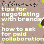 How to Ask for Paid Collabs (influencer series on YouTube) thumbnail