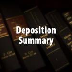 Deposition Summarization thumbnail